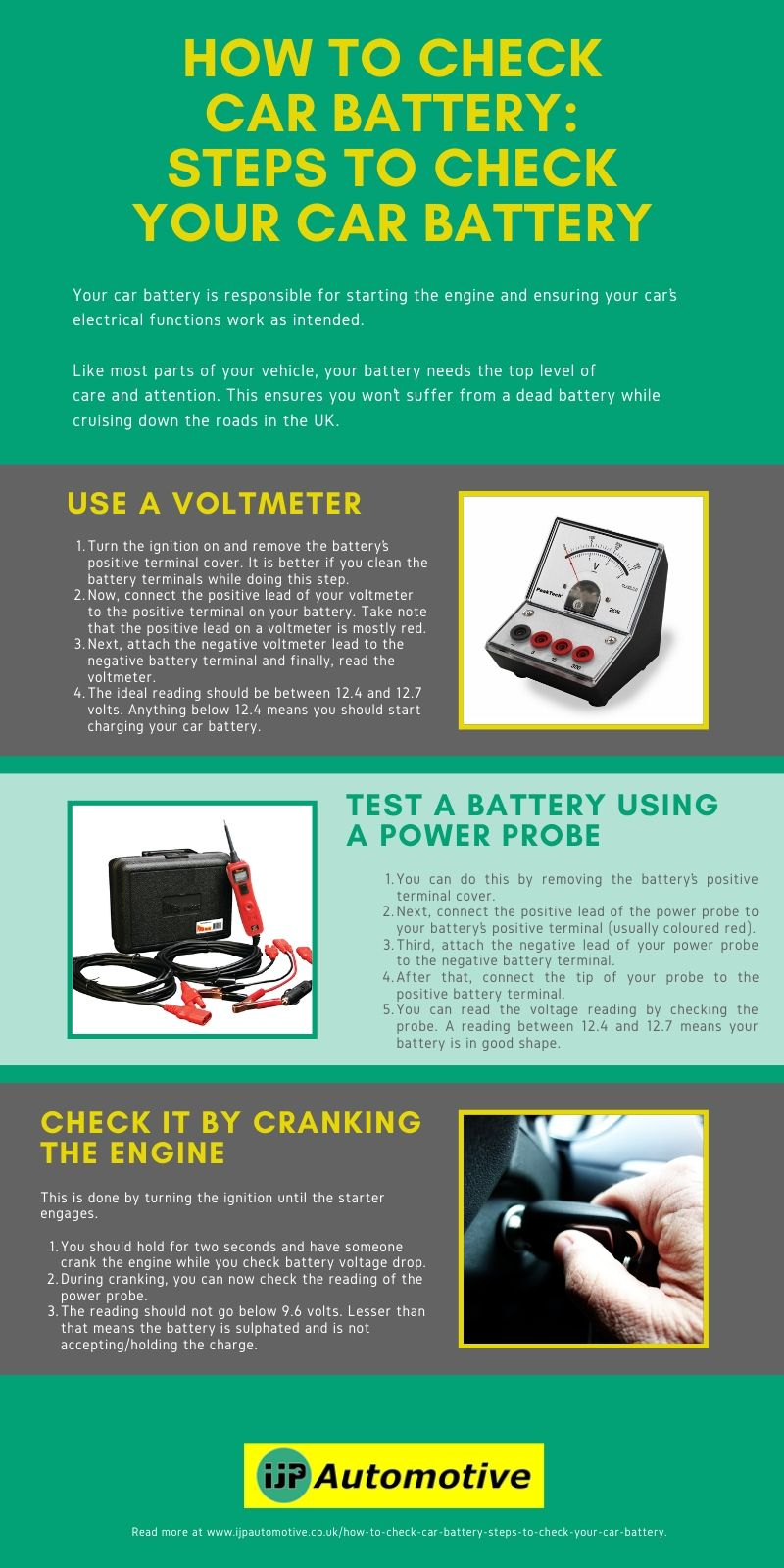 How to Check Car Battery_ Steps to Check Your Car Battery_IJP Automotive